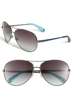 MARC BY MARC JACOBS Metal Aviator Sunglasses $98
