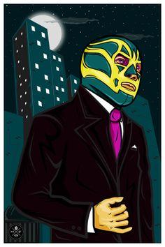 Agente Fishman by Fidel Alonso, via Behance
