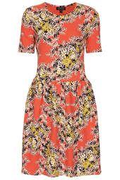 Floral Texture Flippy Dress