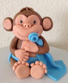 party monkey cake topper - Google Search