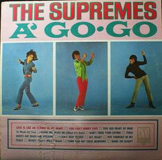 The Supremes A' Go Go, Vinyl Record Album, Motown Records