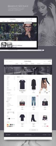 Fashionis on Web Design Served