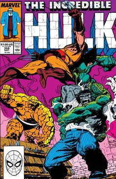 Incredible Hulk 359 A, Sep 1989 Comic Book by Marvel Marvel Comics Superheroes, Hq Marvel, Marvel Comic Books, Comic Book Characters, Comic Book Heroes, Marvel Characters, Comic Books Art, Comic Art, Marvel Heroes
