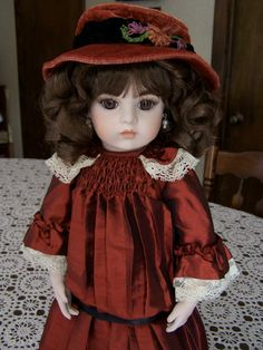 Nancy Peterson's Personal Collection. French Fashion Bru, 2011, Marie Osmond Doll