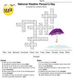 Free Weather Printables