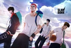 Manga Anime, Anime Art, Anime Basket, Slam Dunk Anime, Best Dunks, Inoue Takehiko, Manga Love, Manga Games, Slammed