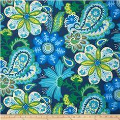 Waverly Sun N Shade Flower Child Sapphire