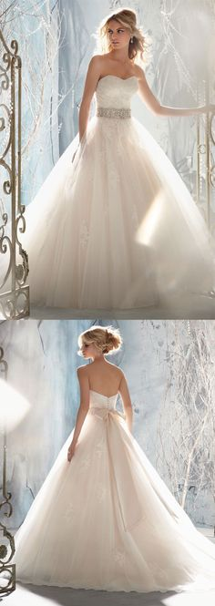 "Never thought I wanted a ""princess"" wedding dress, but this is gorgeous"