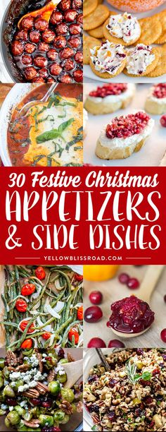 Festive Christmas Appetizers and Sides for Christmas Christmas Dinner Christmas Party Christmas Eve Dinner, Christmas Snacks, Xmas Food, Christmas Cooking, Noel Christmas, Christmas Parties, Christmas Dishes, Xmas Dinner Ideas, Christmas Party Food Menu