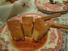 Pudin de pan con carmelo y canela. en la Comunidad de Cocina - Hogarutil.com