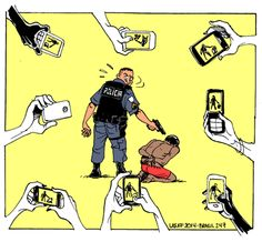 Film the Police  (link is to ACLU: Is It Legal to Photograph or Videotape Police?)