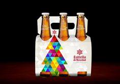Packaging Navidad Estrella Galicia 2013