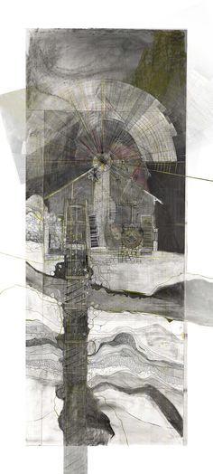 Drawing ARCHITECTURE | Jessica Luscher, Stillness and Motion : Wind...