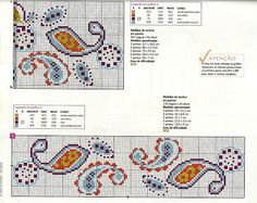 Modern Floral Borders #2/2 continued... ♥ My point Graphs Cruz ♥