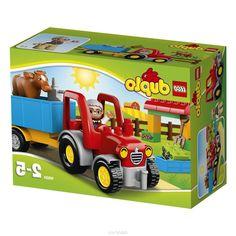 Lego Duplo Конструктор Сельскохозяйственный трактор 10524