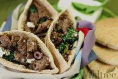 Italian dressing Wildtree's Greek Tacos in PitaRecipe
