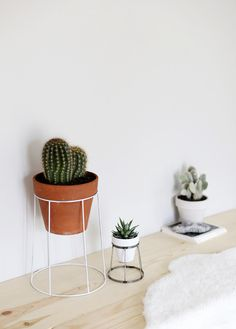 DIY – WIRE PLANT STAND   Nordic Perspective