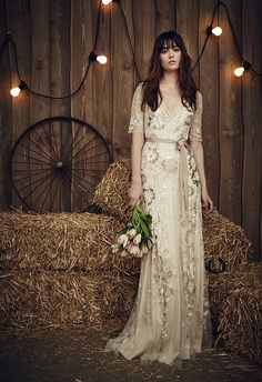 Jenny Packham Country Wedding Dresses 2017 JPB659 Faith / http://www.deerpearlflowers.com/rustic-country-wedding-dresses-from-jenny-packham/