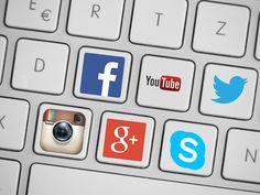 Inzwischen gewöhnlicher Alltag: soziale Netzwerke und das Social Web.
