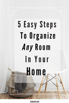 Organizing our home so we can get to the fun part of decorating is like trying to lose 20 lbs so we can wearthose skinny jeans we've been eyeballing. Painful, depressing and frustrating…