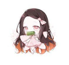 Cute Anime Chibi, Kawaii Chibi, Kawaii Art, Kawaii Anime, Anime School Girl, Anime Art Girl, Demon Slayer, Slayer Anime, Anime Angel