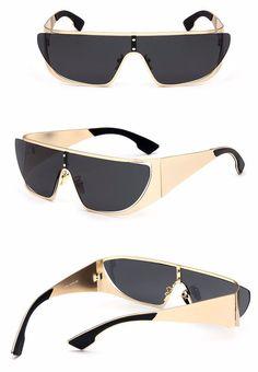"Unisex ""RiRi"" Rihanna Style Polarized Alloy Sunglasses"