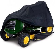 Deluxe Tractor Storage Cover Fits Lawn Mowers With A Deck Up To 54 Garden Tools #tractor #storage #lawnmower #gardentools