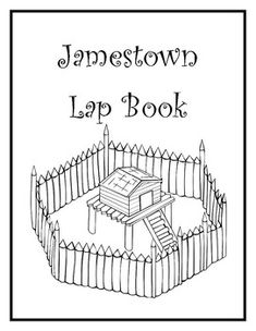 1000 images about wal early american history on for Jamestown settlement coloring pages