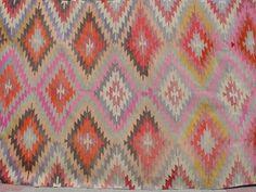 Pink kilim