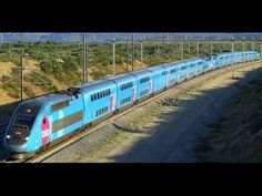 high speed train (TGV, Thalys, Eurostar) in France - YouTube