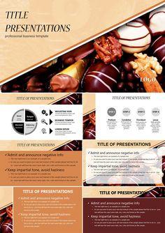 Chocolate truffles PowerPoint templates