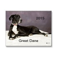 Great Dane 2015 Calendar | Zazzle