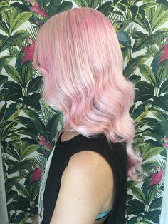 Soft Pastel Pink Hair
