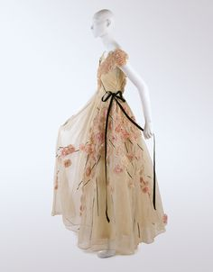 House of Lanvin (French, founded 1889). Dress, 1937 (C.I.58.34.19a, b)