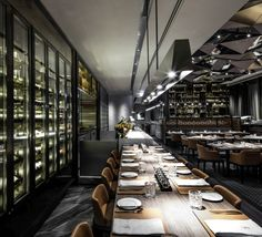 Kokaistudios has completed the interior design of Porterhouse by Laris, a brand new steakhouse located in Lan Kwai Fong Group's new California Tower in Central, a destination quickly becoming Hong Kong's hottest dining hub.