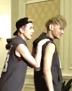 Tao and Sehun