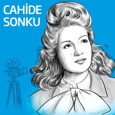 Sinemanın önemli ismi Cahide Sonku... #CahideSonku #kadınlargünü #womensday