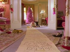 eloise at christmas time and her long list