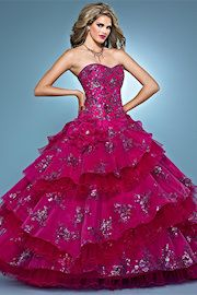 Luxury Ball Gown LNQ12 at www.GownsBySimpleElegance.com