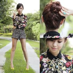 Style Equation: Florals + Florals | Candymag.com