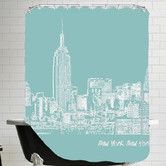 Found it at AllModern - Skyline New York City Shower Curtain