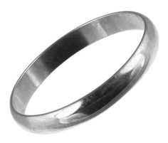 Alliance – Homme – Or blanc (9 carats) 2.42 Gr – T 59 | Your #1 Source for Jewelry and Accessories