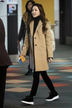 Sandara 2ne1, Sandara Park Fashion, 2ne1 Dara, Only Girl, Thinspiration, Airport Style, Role Models, Kpop Girls, Korean Fashion