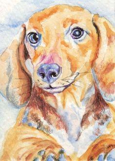 Cheap Dog Grooming Near Me Arte Dachshund, Dachshund Puppies, Dachshund Love, Dachshunds, Wiener Dogs, Dog Artwork, Artwork Ideas, Art Ideas, Dog Jokes
