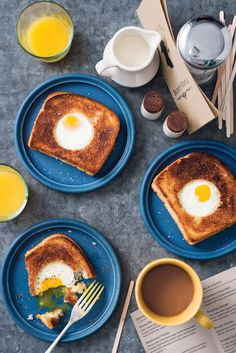 Bird in a Grilled Cheese Nest from the Portlandia Cookbook