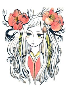 portrait by koyamori.deviantart.com on @deviantART