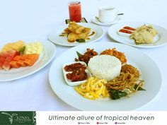 "Still breakfast time! Experience the Balinese Breakfast in our restaurant. The favorite menu if you would like to have a breakfast in Bali is ""Nasi Jinggo"". The taste is really delicious. . . . #bali #seminyak #tonysvilla #breakfast #balinesefood #favorite #goodfood #foodblogger #travelblogger #staydifferent #tasty #delicious #balinesemenu  www.balitonys.com"