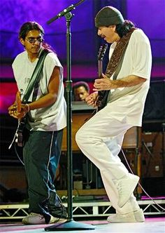 SANTANA and LOS LONELY BOYS