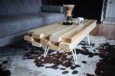 DIY: Supermakkelijke Houten Salontafel