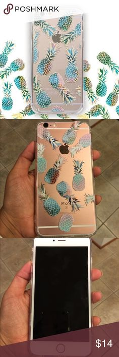 Pineapple IPhone 6+ case Brand new Pineapple IPhone 6+ / 6s plus case Accessories Phone Cases